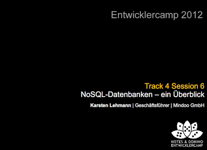 Image:Download link for my Entwicklercamp 2012 session slides about NoSQL databases (German)